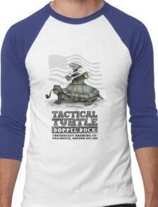Tactical Turtle Doppel Bock Men's Baseball ¾ T-Shirt