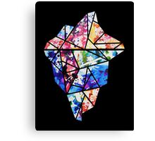 Colourful Iceberg Canvas Print