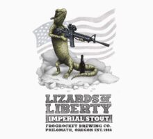 Lizards of Liberty Imperial Stout by CatLauncher