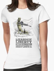 Lizards of Liberty Imperial Stout Womens Fitted T-Shirt