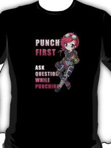 Vi chibi - Punch First - League of Legends T-Shirt
