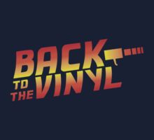 Back To The Vinyl Kids Clothes