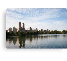 NYC's San Remo Across the Jackie Onassis Reservoir Canvas Print