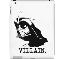 Here's to the Villian iPad Case/Skin