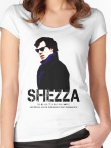 Shezza 2 Women's Fitted Scoop T-Shirt