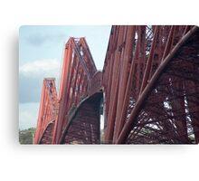 Forth Rail Bridge Canvas Print