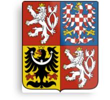 Coat of Arms of Czech Republic  Metal Print