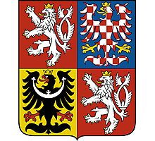 Coat of Arms of Czech Republic  Photographic Print