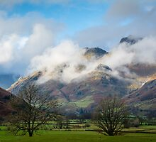 The Langdale Pikes by Mark Hooper