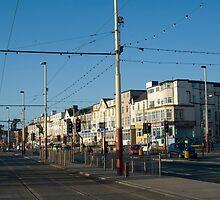 Blackpool street scene by photoeverywhere