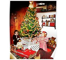 Old Fashioned Christmas Poster