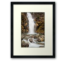 Hell Ghyll Waterfall Framed Print