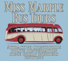 Classic Bus Agatha Christie Tour One Piece - Short Sleeve