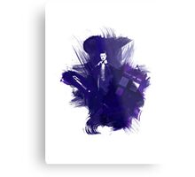 Watercolor Eleventh Doctor Metal Print