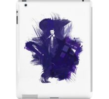 Watercolor Eleventh Doctor iPad Case/Skin