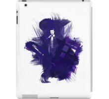 Watercolor Eleventh Doctor iPad Case/Skin