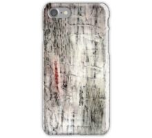 """""""Winter"""" Abstract, mixed media iPhone Case/Skin"""