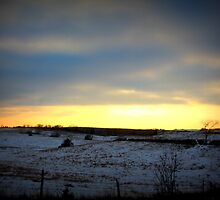 Nebraska Winter by CRUSSE