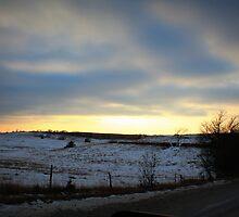 Nebraska Sunset by CRUSSE
