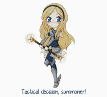 Lux chibi - Tactical decision! - League of Legends by linkitty