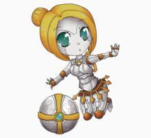 Orianna chibi - League of Legends Kids Clothes