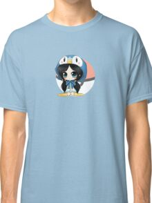 Piplup girl - Pokemon Classic T-Shirt
