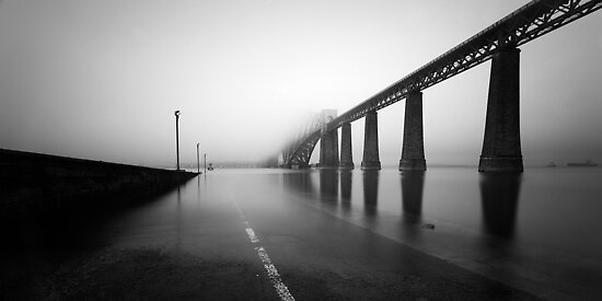 Forth Rail Bridge - Vanishing Points by Kevin Skinner