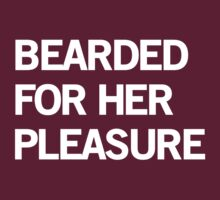 Bearded for her pleasure by contoured