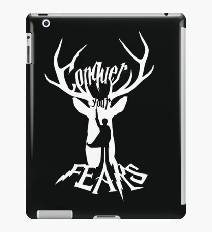 Conquer Your Fears iPad Case/Skin