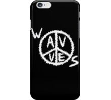 Wavves Logo Black iPhone Case/Skin