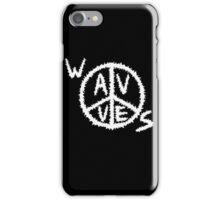 Wavves Logo Black iPhone Case/Skin