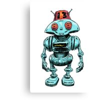 The Robot Buddy Canvas Print