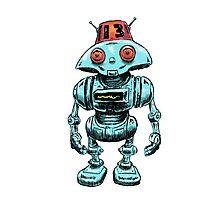The Robot Buddy Photographic Print
