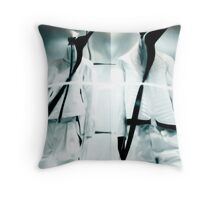 Space Cops Throw Pillow
