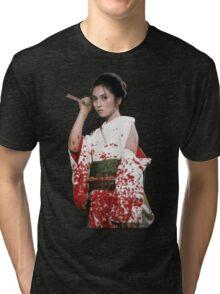 Lady Snowblood Tri-blend T-Shirt