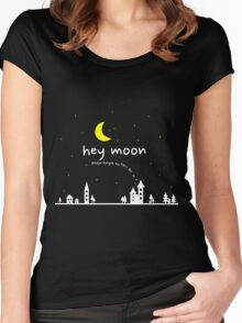 Hey Moon Women's Fitted Scoop T-Shirt