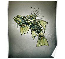 Kinetic Seafood Poster