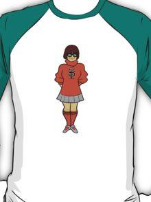 velma is a giants fan T-Shirt