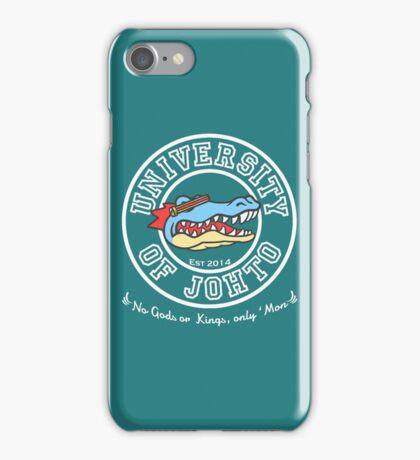 University of Johto iPhone Case/Skin