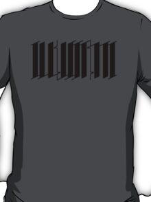 The Illustrati - Black Graphic T-Shirt
