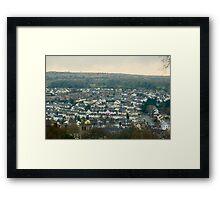 Council estate Framed Print
