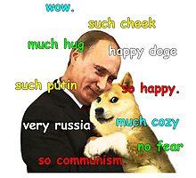 Putin Doge Photographic Print