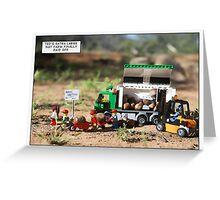 Nut Farm Greeting Card