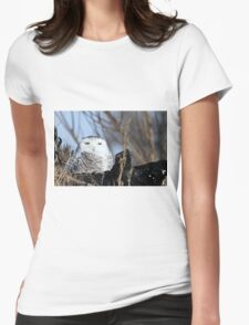 Rising from the ruins Womens Fitted T-Shirt