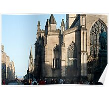 St Giles Cathedral, Edinburgh Poster
