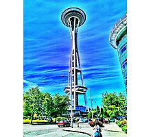 Space Needle artwork Photographic Print