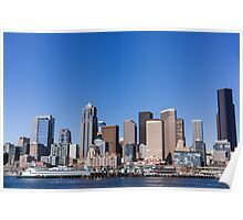 Downtown Seattle Poster