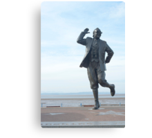 Eric Morecambe statue Canvas Print