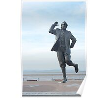 Eric Morecambe statue Poster