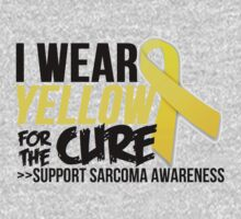 Sarcoma Ribbon For The Cure  by Alan Craker